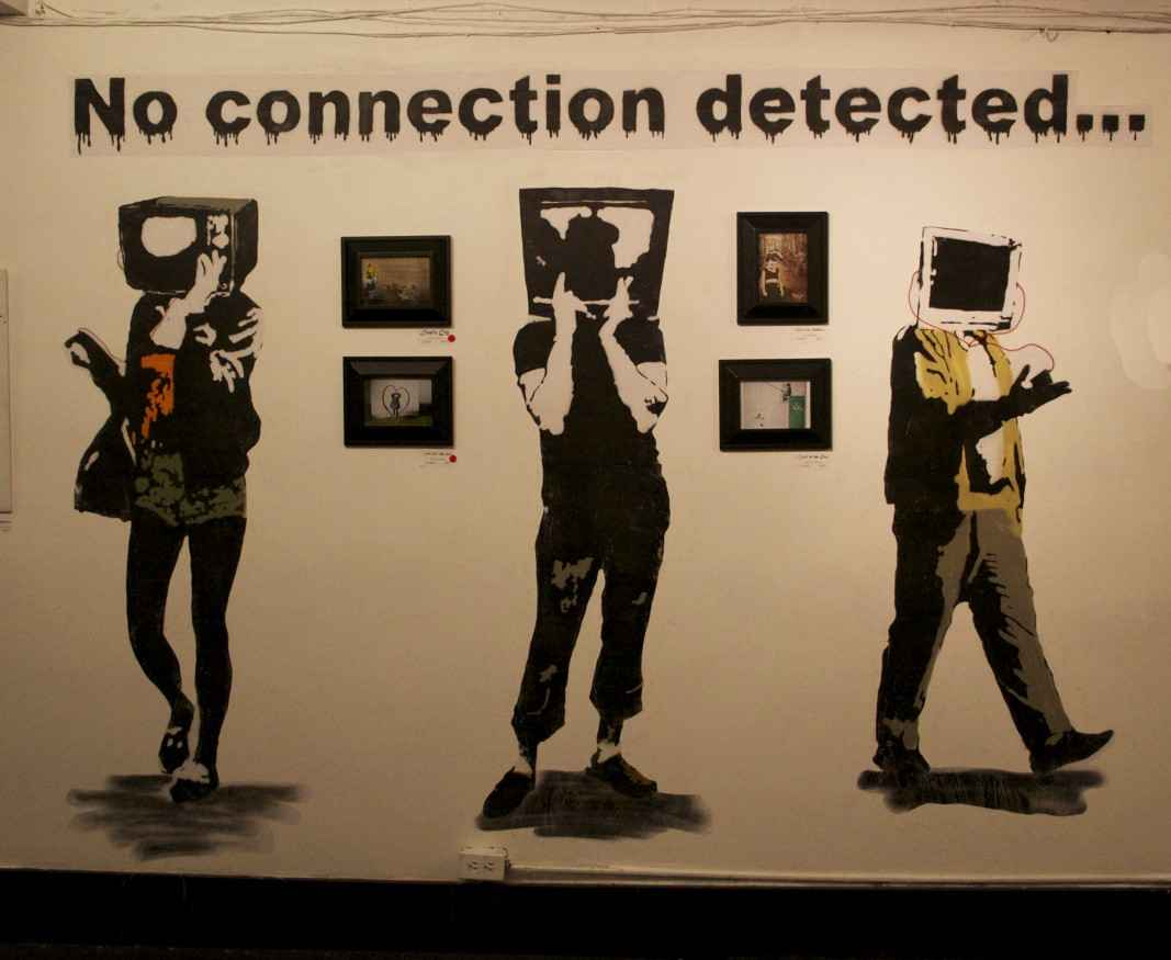 No Connection - Banksy